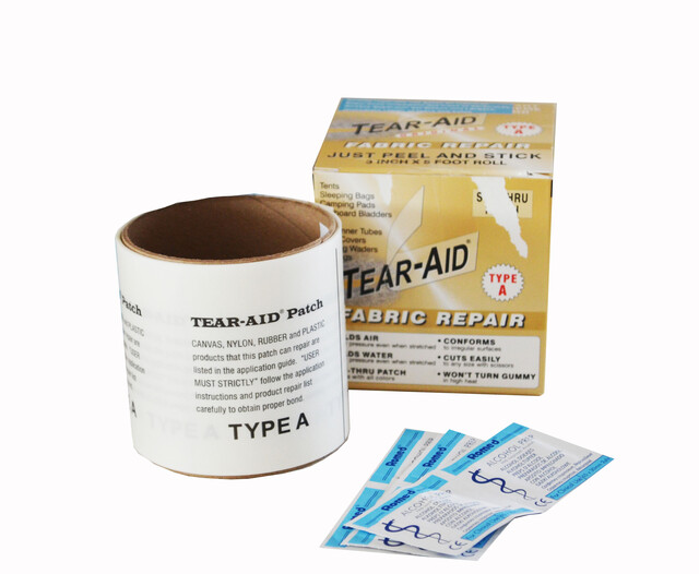 How to Apply Type A Tear Aid